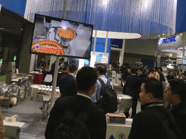 【精量衡器】检重秤2017年3月广州包装展 现场火热