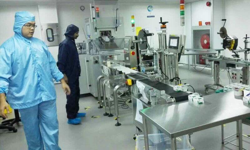 马来西亚药企Hovid药品自动检重秤应用案例